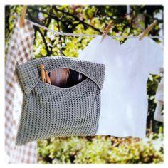 1000+ images about Crochet peg bag :) on Pinterest Peg ...