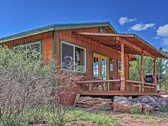NEW!+Tumbling+Rock+Ranch+Cabin+w/Great+Views!+++Vacation Rental in Arizona from…