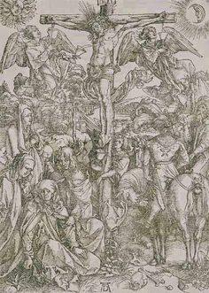 Albrecht Dürer, 'The Large Passion: The Crucifixion' | V&A