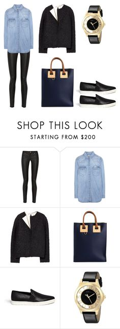"""11"" by shkolashopinga ❤ liked on Polyvore featuring Acne Studios, Calvin Klein Jeans, Marni, Sophie Hulme, Vince and Marc by Marc Jacobs"