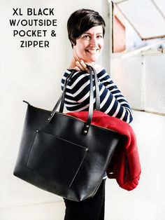 60% Off Leather Tote Bag HUGE SALE Tote with Zipper Upgrade   Etsy Huge Sale d48b6cf1e3
