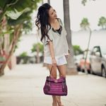 Casual Holiday :: Chambray shirt & Sequin skirt : Wendy's Lookbook