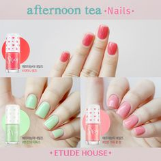 Etude House Play Nail Afternoon Tea Spring 2015