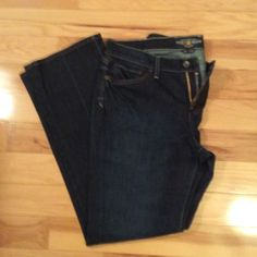 """Lucky brand jeans size 14/32 classic rider 32"""" inseam Lucky Brand Jeans Boot Cut"""