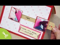"Tarjeta ""Mi otra mitad"" - Manualidad 14 de Febrero ♥ San Valentin - YouTube"