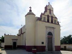 The Capilla de la Santa Cruz del Milagro in El Rosario, Sinaloa, Mexico, dates from the Spanish colonial period.