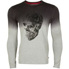 Pulóvre : Japan Rags Homme Ganesh Knit Pullover Charcoal grey