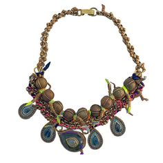 De Petra Oracle Statement Necklace