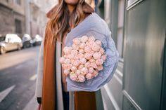 Gal Meets Glam Winter In Paris - Pink roses