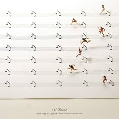 Art & Craft Ideas, martinekenblog: Miniature Calendar