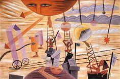 Puerta del Este (1935) Acuarela - 32 x 47 cm