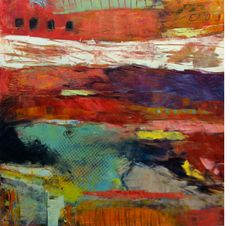 Nicola Morgan One Fine Day West Branch, One Fine Day, Fiction, Poetry, Magazine, Abstract, Expressionism, Painting, Art
