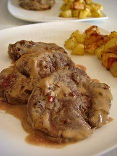 Filetto di manzo al pepe rosa e profumo di tartufo