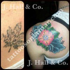 Josh Hall   #mrhalltattooer  972-849-6428  #coverup