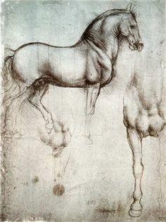 EL CABALLO DE LEONARDO DA VINCI En 1493, se exhibió en Milán el modelo de arcilla del caballo, que fue proclamado como la obra ecuestre mas bella que jamás se hubiera visto. Al derrotar los franceses a los milaneses en 1499, los ballesteros de Luis XII utilizaron el modelo para sus prácticas de tiro que quedó, por supuesto, totalmente destruido.