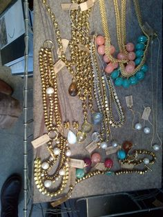 assorted jewelry. NYC.