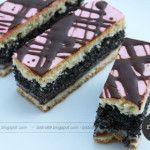 Makové rezy od Babky - NajRecept.sk Desserts, Food, Basket, Tailgate Desserts, Deserts, Essen, Postres, Meals, Dessert