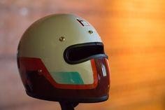 Custom Motorcycle Helmets, Custom Helmets, Racing Helmets, Bobber Motorcycle, Moto Bike, Custom Motorcycles, Motorcycle Accessories, Custom Bikes, Bike Helmets