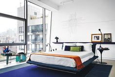 foorni.pl | Mieszkanie z widokiem na High Line w NYC