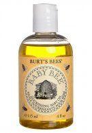 Burts Bees :Baby bee apricot Baby oil  #honingland