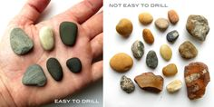 Make This: Drilled Natural Stone Jewelry Tutorial - Paper and Stitch