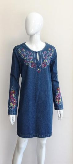 A designer and top-end high street online resale boutique. Because timeless pieces deserve to stay in the fashion circle as long as possible. Denim Tunic, Designer Resale, Frocks, Tunic Tops, Glamour, Boutique, Dresses, Women, Fashion