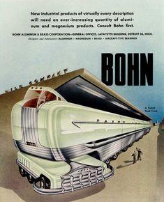 Futuristic Machine Inventions From 1940
