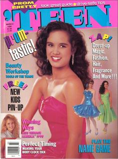 1990 prom edition of 'TEEN ...I saw this while googling and instantly remembered the cover.