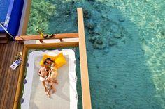 Con un sinfinde  aguas azules , la vida marina y todos los servicios excepcionales hacen unas vacaciones perfectas,en el Angsana Vela...
