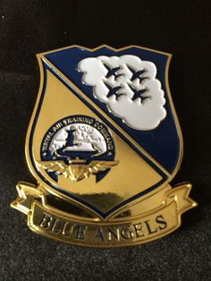 Navy Chief Non CPO Blue Angels Challenge Coin | eBay