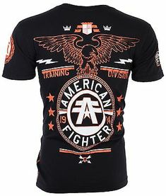 Ufc, American Fighter, Swagg, Casual Shirts, Men Shirts, Biker, Mens Tops, T Shirt, Athletic
