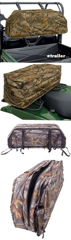 Safely transport your compound bows and arrow-filled quiver with this padded carrier that attaches to your UTV roll cage. Water-resistant fabric zippers keep moisture out, and the thick padding guards against damage. Compound Bows, Roof Box, Gifts For Hunters, Roll Cage, Quiver, Hunting Gear, Water Sports, Zippers, Arrow