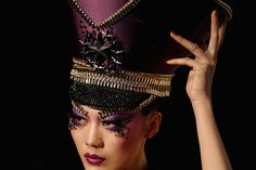 China Fashion Week  Makeup by Mao Geping  MGPIN Make-up Styling Collection