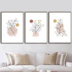 Wall Decor Set, Wall Art Sets, Diy Wall Art, Modern Wall Art, Wall Decor Frames, Framed Wall Art, Modern Prints, Heart Tatoo, Living Room Art