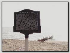 1898 Flight on Silver Beach