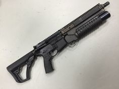 """sdkfz142: """" Rare Sighting Of A Daniel Defense GL/SSC RIS II - Soldier Systems Daily This is one of the most rare Daniel Defense RIS II Rails, the GL/SSC. This stands for Grenade Launcher, Sound Suppressor Capable. It's slightly shorter than the M4A1..."""