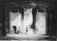 Hamlet, 1936: Set Designed by Jo Mielziner
