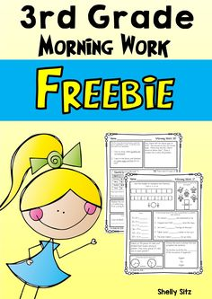 Free 3rd grade morning work third grade language and math morning work for third grade third quarter fandeluxe Images
