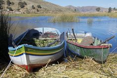 Moored Boats, Chisawa Floating Island, Peter Cook UK