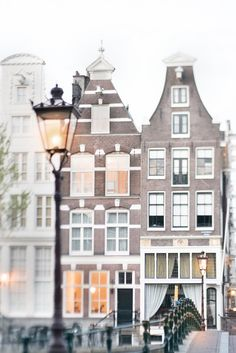 Lamp Light in Amsterdam Fine Art Photographic Print by Georgianna Lane $30.00