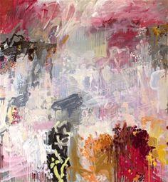 """""""Reflections of Morning, Horseshoe Lagoon"""" Jo Davenport 183 x 168 cm - oil on belgian linen"""