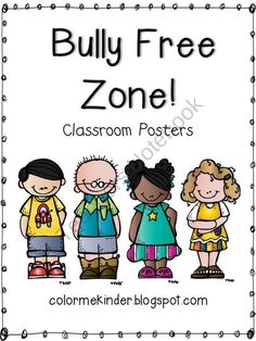 bully free zone coloring pages - photo#26