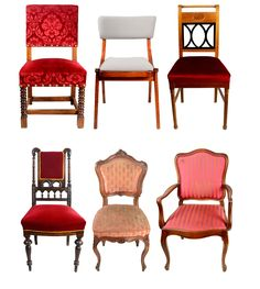 Original Vintage Chairs in Louis-styles... A bit more than luxury. Available in any type.