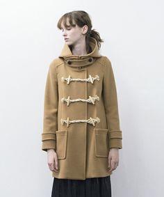 DRESSLAVE(ドレスレイブ)のpesca melton duffle coat(メルトンダッフルコート)(ダッフルコート)|キャメル