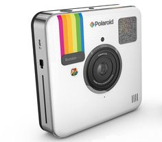 Socialmatic's slim, Polaroid-branded digital camera will cost $300 when it ships early next year. It comes with built-in photo filters and the ability to printer photos.