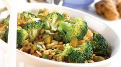 Riz sucré aux légumes