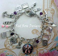 Pretty Little Liars Inspired Charm Bracelet | eBay