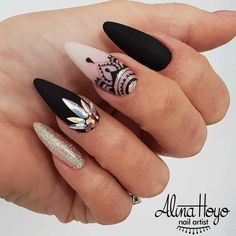 """2,845 Likes, 4 Comments - Ugly Duckling Nails Inc. (@uglyducklingnails) on Instagram: """"Beautiful nails by @alinahoyonailartist Ugly Duckling Nails page is dedicated to promoting…"""""""