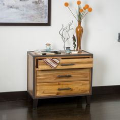 Christopher Knight Home El Paso Mahogany Wood Storage Unit