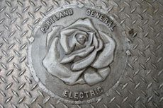 I love roses made of anything, especially something unexpected like metal.